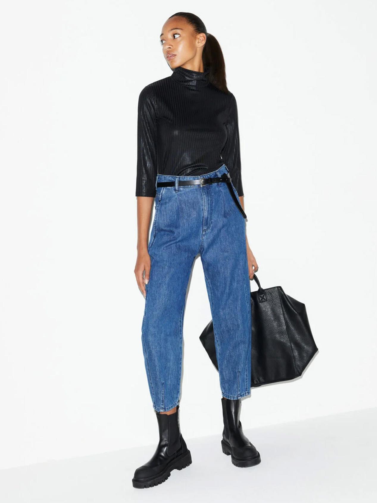 Women Jeans Barrel Leg