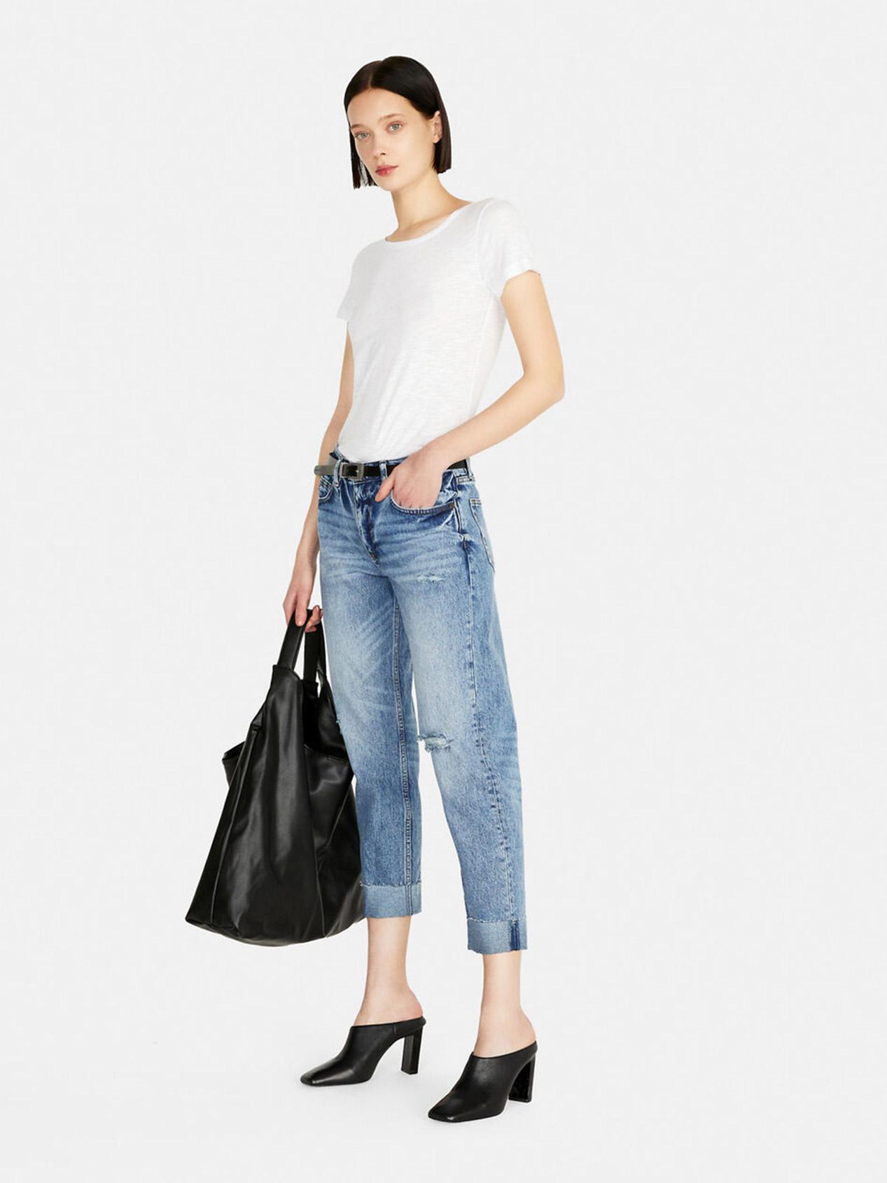 Women Jeans Carrot Fit